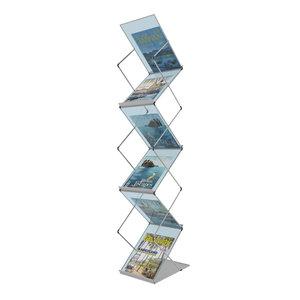 3D folding brochure stand