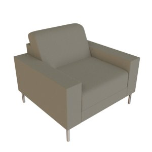 3D sofa blender