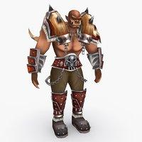 3D model character type q