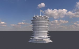 bahrain sakhir 3D model