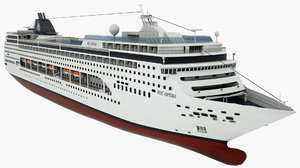 3D cruise vessel msc opera