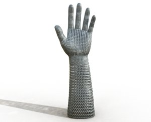 3D chainmail hand