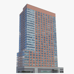millennium tower 3D model