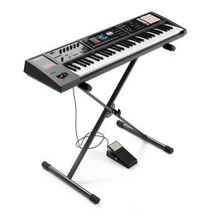 keyboard roland 3D model