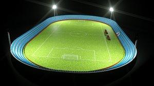 3D model football soccer