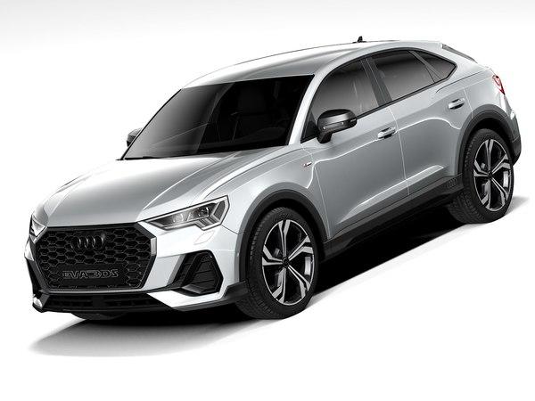 audi q3 sportback 2021 3D model