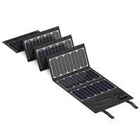 small portable solar panel model