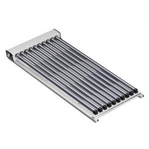 solar heating panel 3D