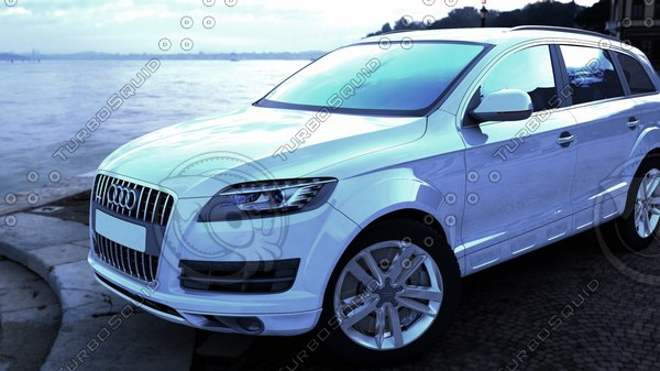 3D audiq7 car