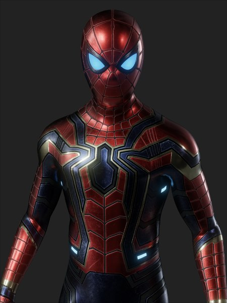 3D model iron spider rig