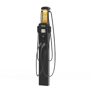 3D car charging station model