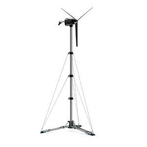 3D small wind turbine