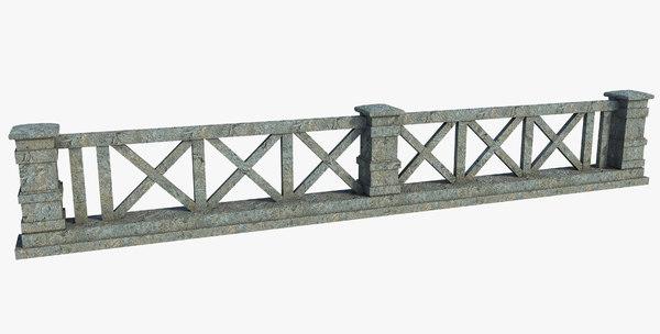 3D fence classic model