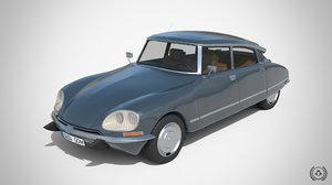 citroen ds23 1974 3D model