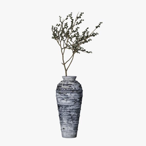 branch jar melancholia 3D model