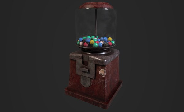old gumball machine model