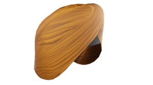 punjabi turban 3D