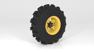 road wheel 3D model