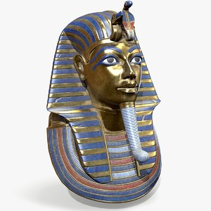 tutankhamon mask 3D model
