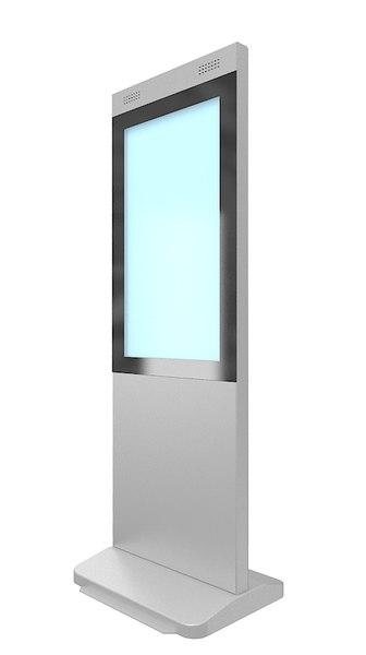 3D info stand
