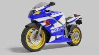 transportation motorcycle 3D model