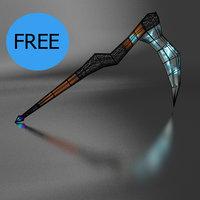3D scythe lightning braid