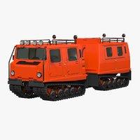 3D model snowcat bv 206