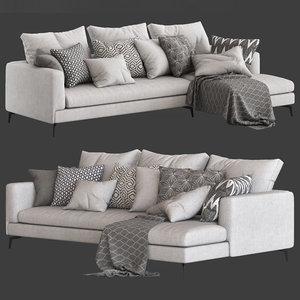 3D globewest felix mateo sofa