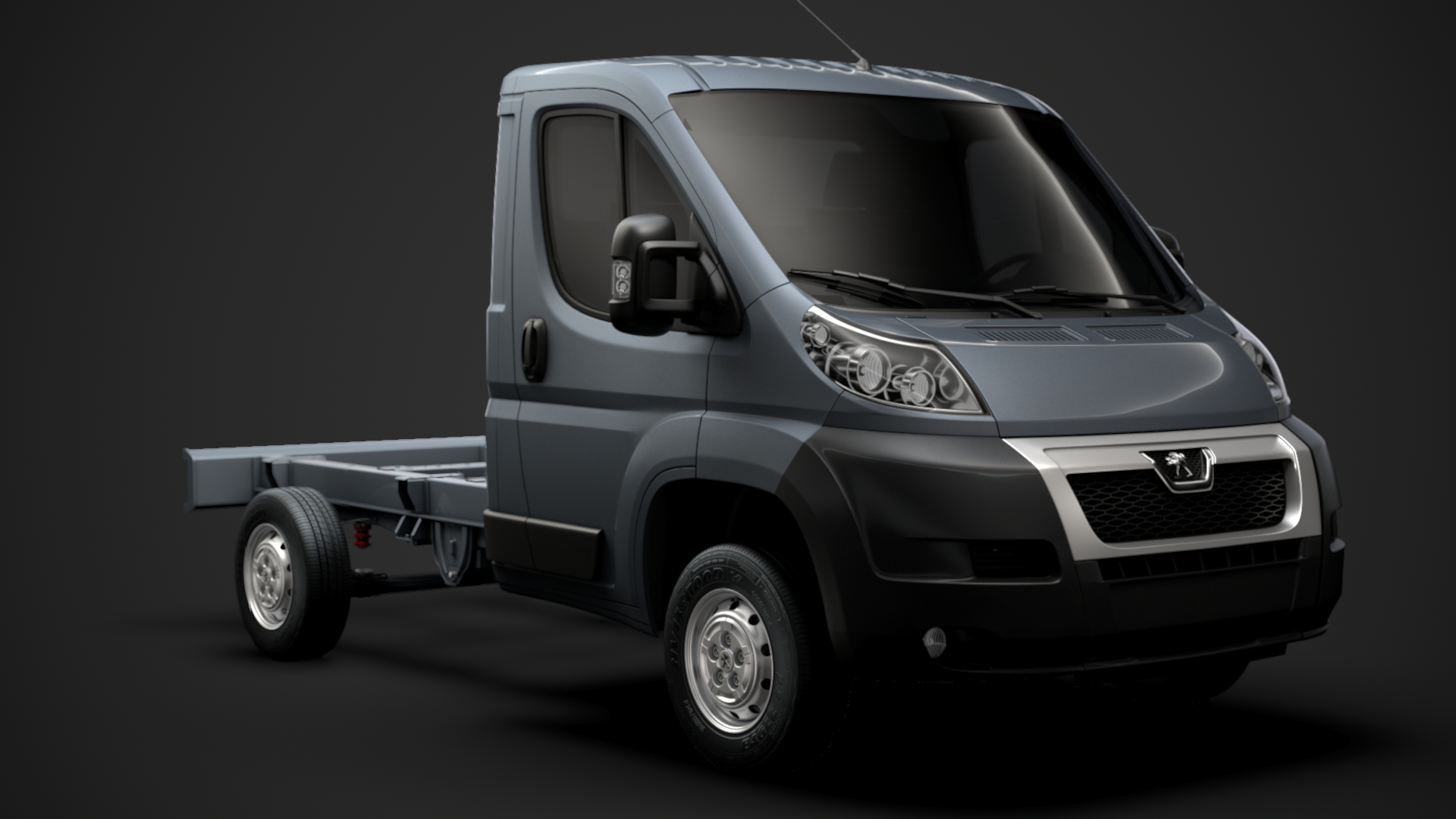 3D peugeot boxer manager chassis