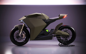 ducati electric zero 3D model