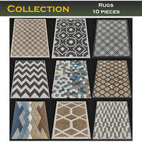 Rugs collection 10 pieces