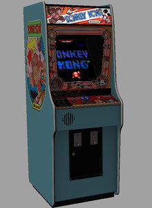 donkey kong arcade 3D
