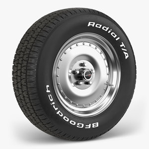bfgoodrich centerline auto drag model