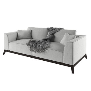 3D model asnaghi chelsea sofa