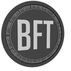 3D bnktothefuture black coin