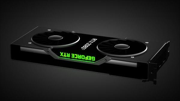 3D nvidia rtx 2080 ti