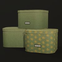 fabric storage box 3D model