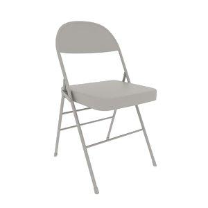metal folding chair 3D model