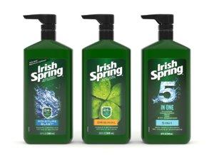 3D irish spring body wash
