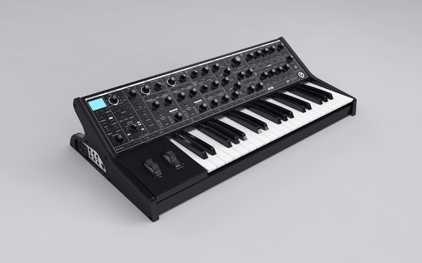 classic moog subsequencer 37 3D