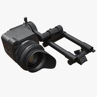 camera viewfinder 3D model