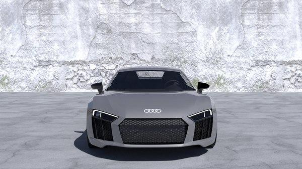 car r8 3D model