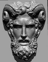 roman mask rilief sculpture classic
