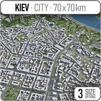 kiev surrounding - 3D