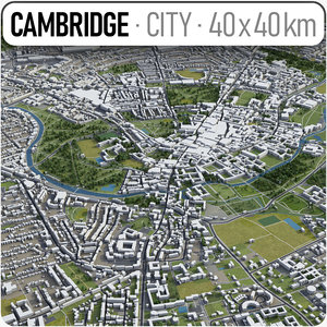 area cambridge 3D