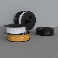 filament spools 3D model