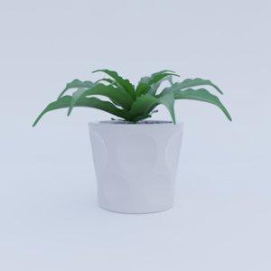 faux plant 3D model