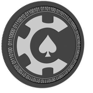 3D casinocoin black coin
