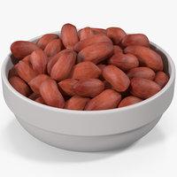 peanuts plate 2 3D
