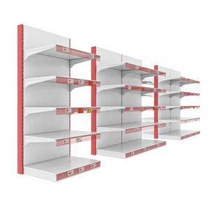 storage shelves model